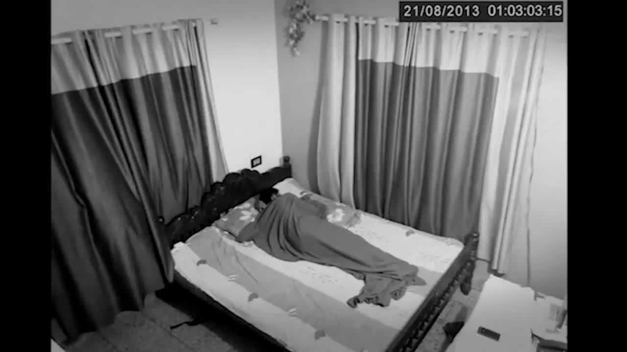 #幽灵#可怕的幽灵进了我的卧室!诡异可怕难以置信,真实记录