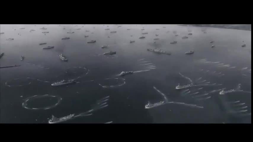 #经典看电影#此战日军以为美军有50艘战舰,800多艘,400艘是军舰