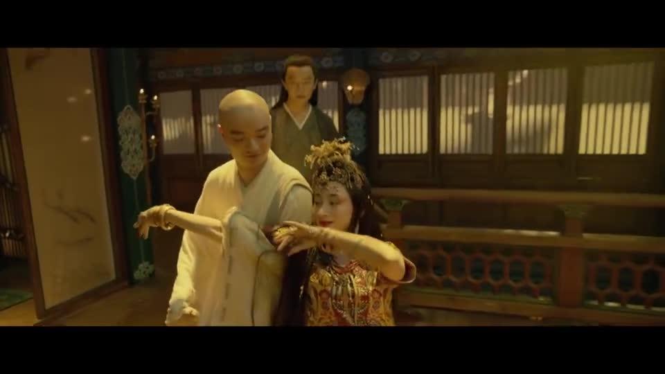 #电影迷的修养#《妖猫传》最经典一段舞蹈,胡旋舞十分精彩,真正的大唐风流