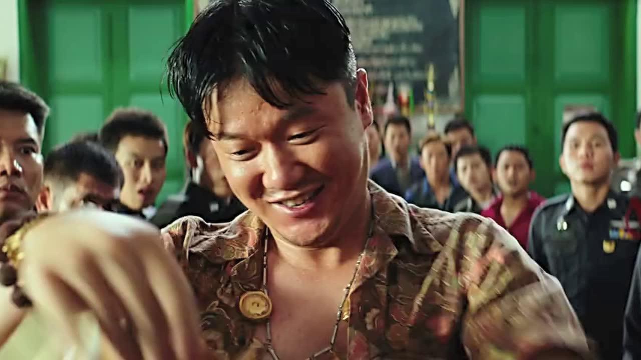 #电影迷的修养#泰哥打架竟然吐口水,陈赫是不是玩不起