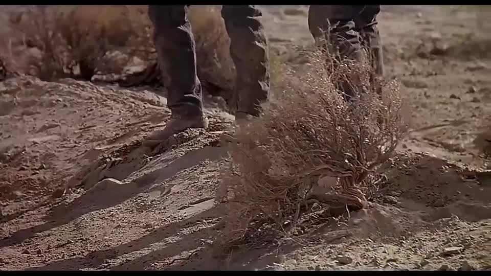 #电影迷的修养#男子被怪物追杀,和伙伴一起把怪物引到陷阱里,成功把怪物解决