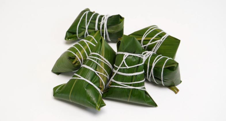 #包粽子煮粽子教程#3分钟学会粽子最新包法,步骤详细,方法简单,学会给家人包着吃