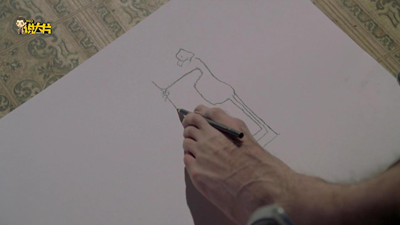 #经典看电影#小伙用脚画了幅画送心上人被嫌弃,哪知小伙成了大师《我的左脚》