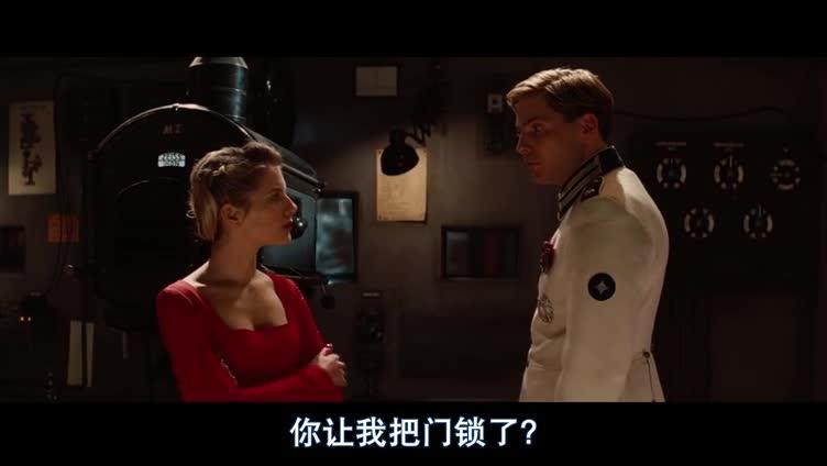 #经典看电影#《无耻混蛋》索莎娜与德国士兵双双殒命的片段,昆汀的配乐妙极了