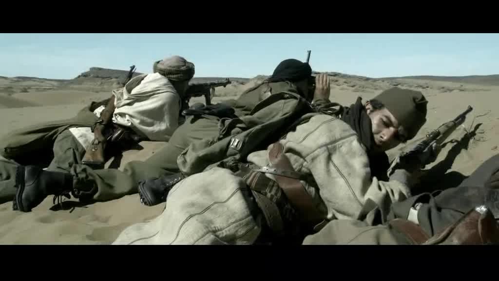 游击队回身发现了一个敌军,情况危机