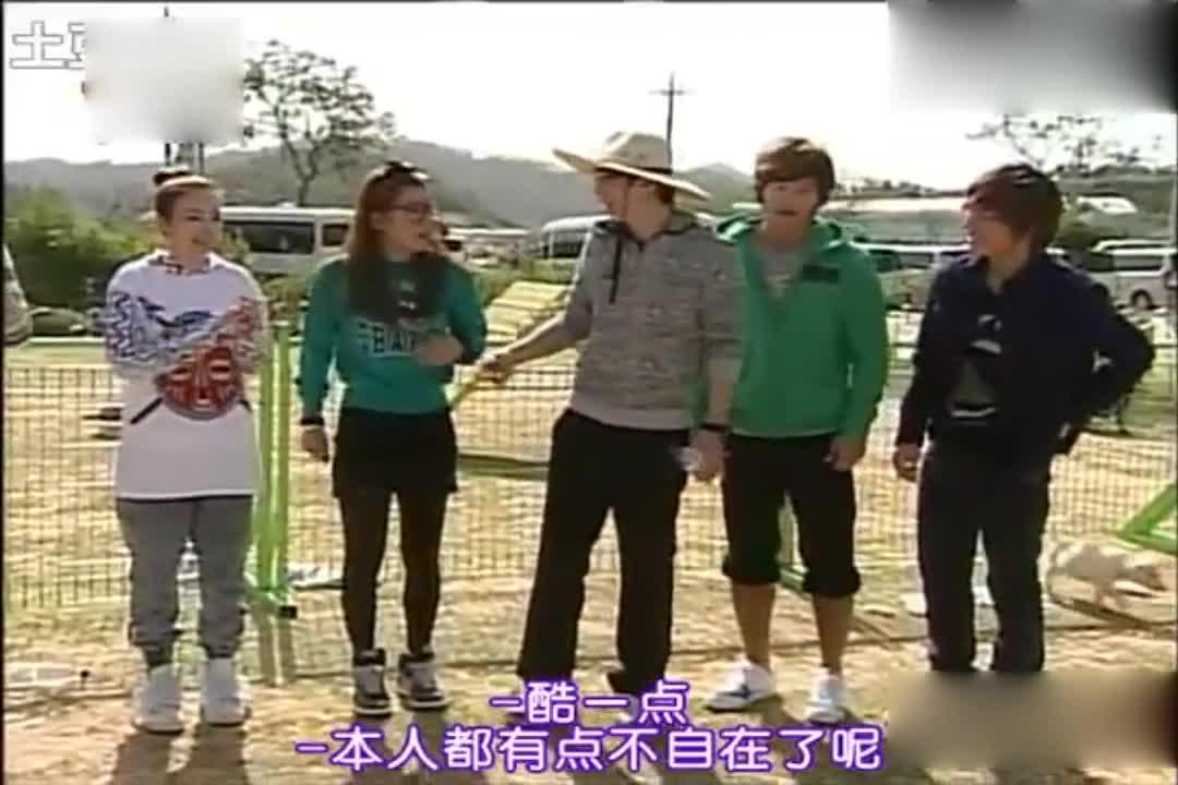 李孝利让刘在石酷一点,这样才能吸引人?