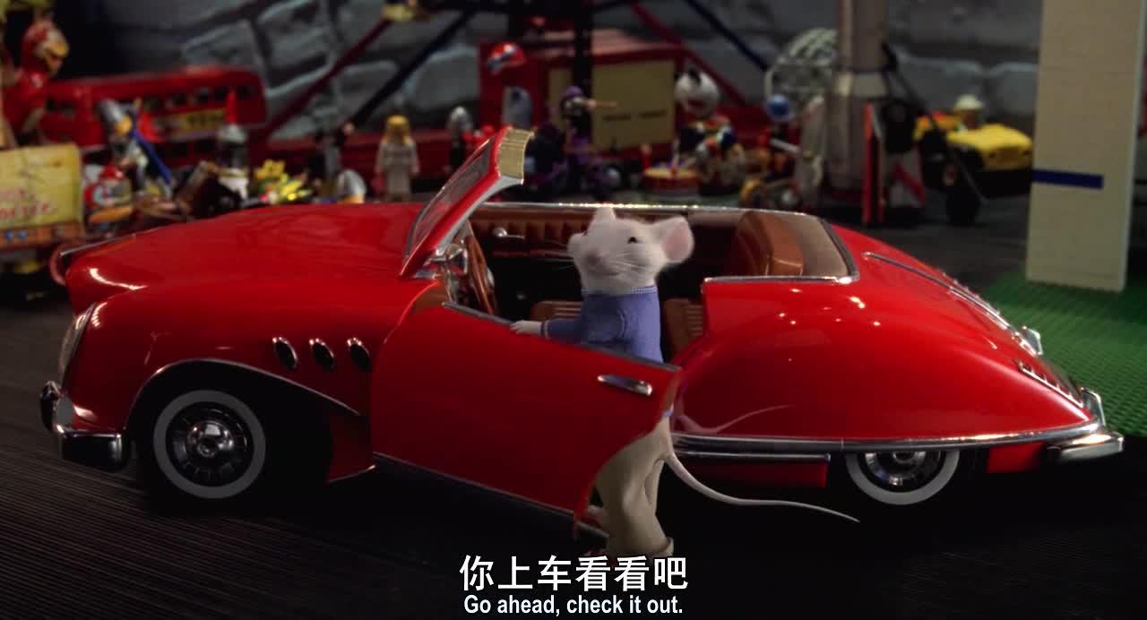 孩子给老鼠买了一辆跑车,太炫酷了,没想到老鼠竟然会开车