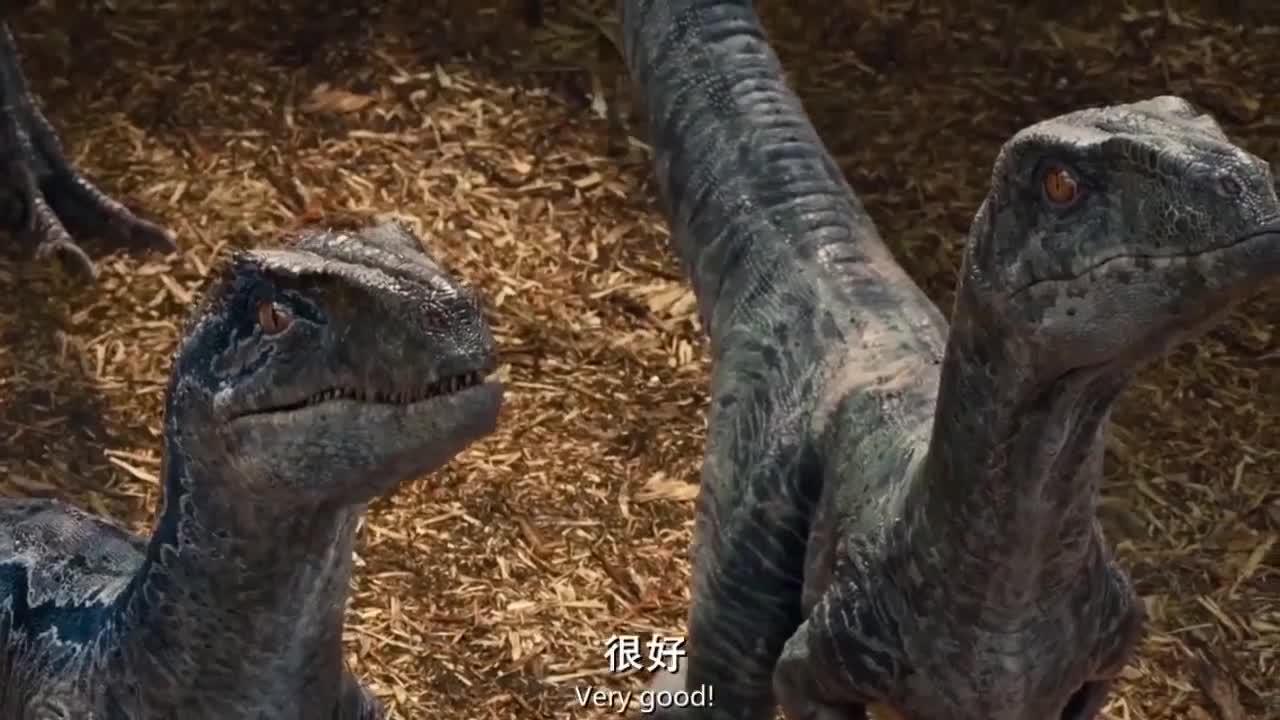 科幻电影《侏罗纪世界》第一个全面展现恐龙的镜头