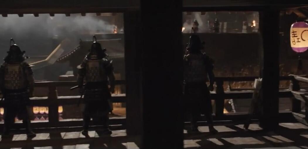 日本浪人在盛宴上刺杀日本大名