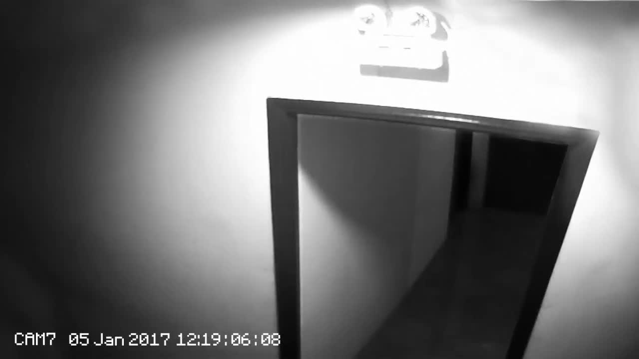 可怕的鬼视频录像,是真实的吗?无法现象!