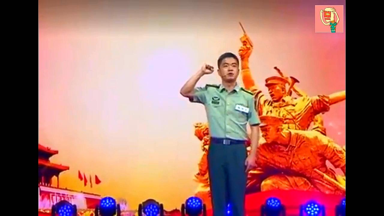 观世界:帅气边防军人演讲,讲出了解放军的勇敢