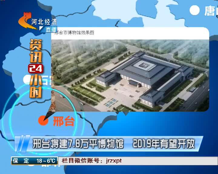 邢台将建7.8万平博物馆 2019年有望开放