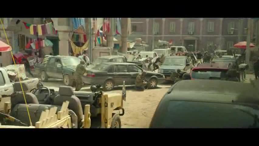 """电影战狼2发布""""非洲行动""""版预告"""