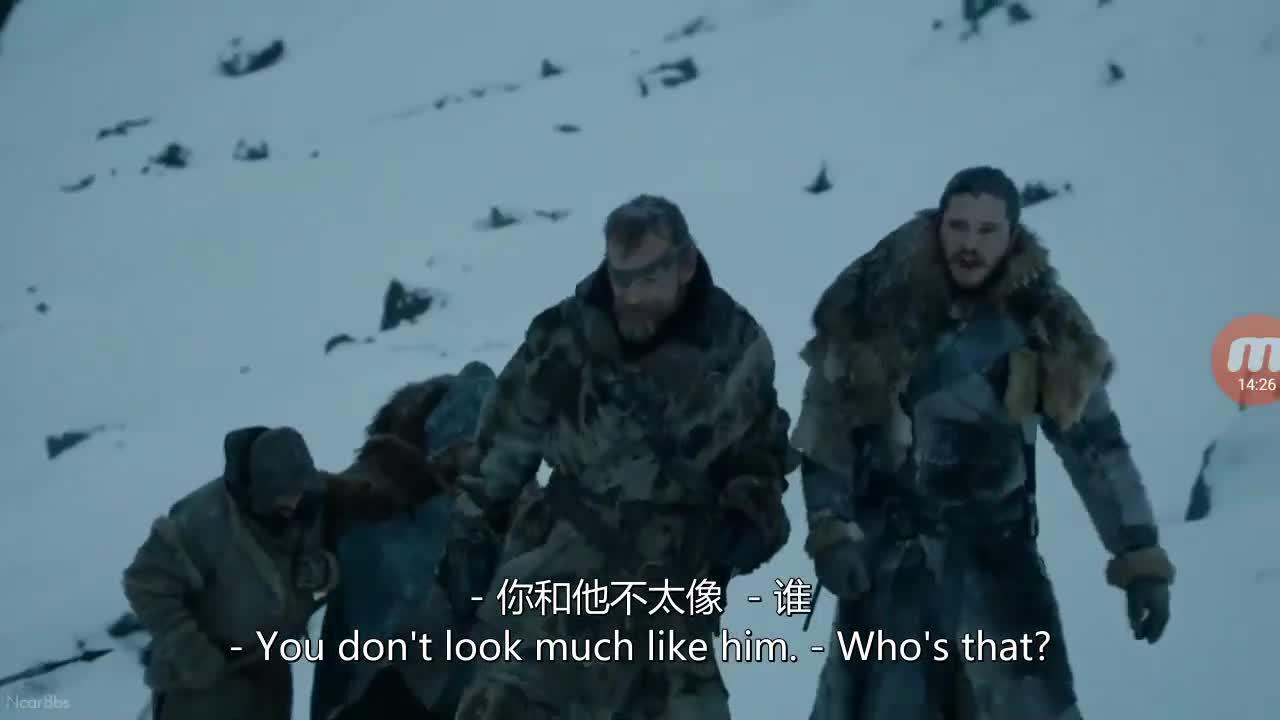 权游七 第六集 雪诺身份被揭露
