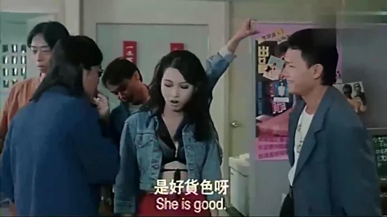 #追剧不能停#《古惑仔之人在江湖》导演你好,带个小妞来试镜,大美女黎姿小姐