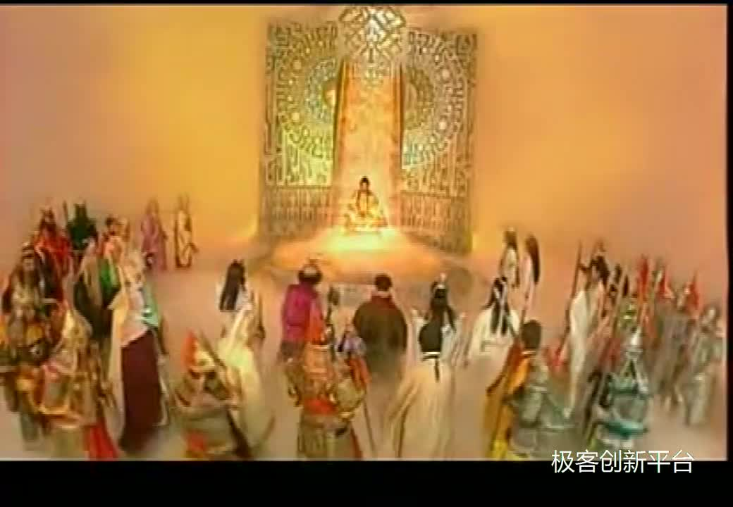 #经典看电影#西游记后传:齐天大圣拯救三界,成为佛祖,这时如来佛祖的眼神