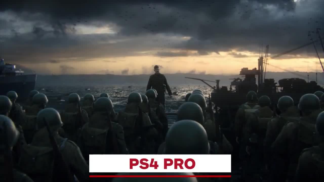 《使命召唤二战》各平台画面对比
