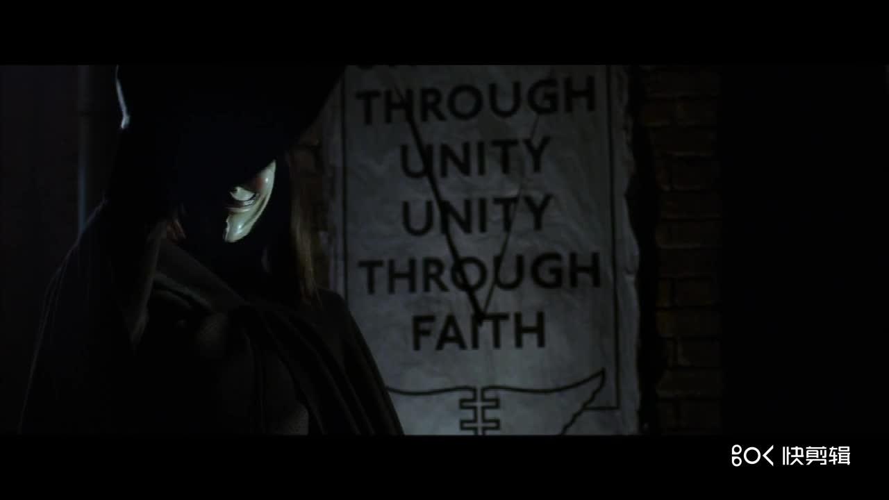 #好莱坞经典系列#V字仇杀队,好莱坞经典动作片大片,很不错的一部电影