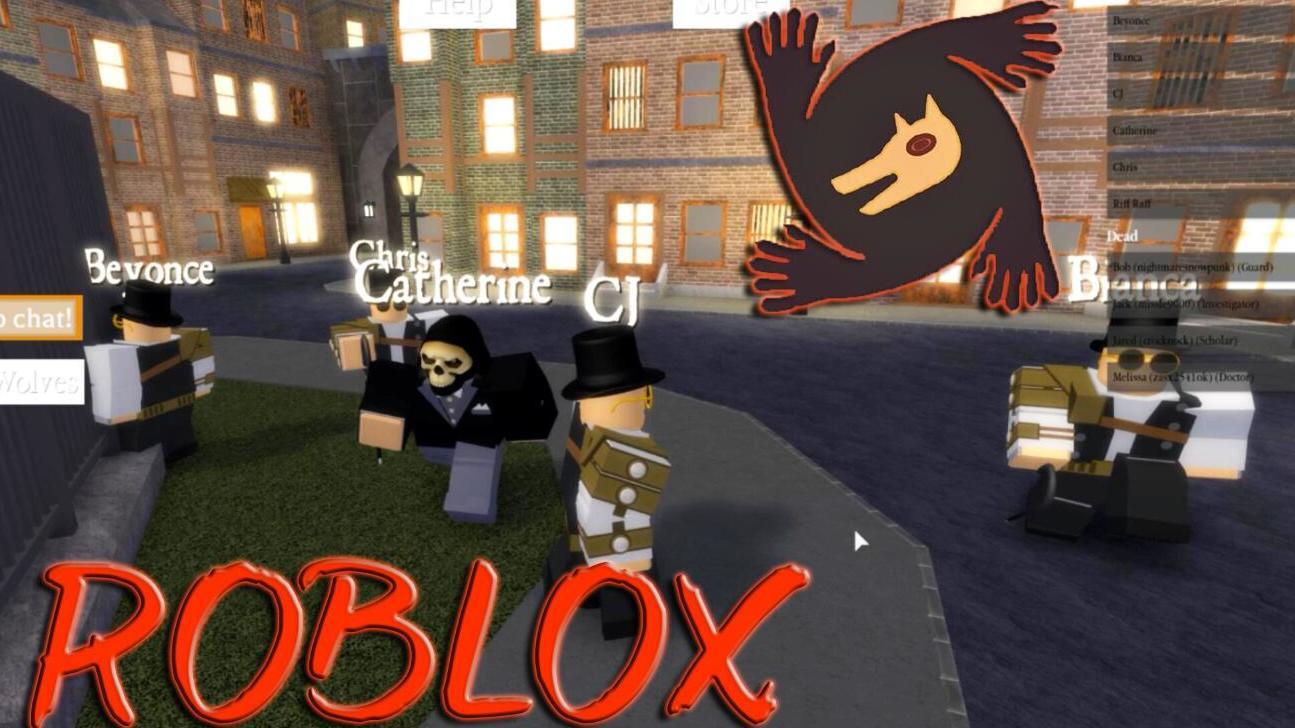 #搞笑视频#极速游戏解说 ROBLOX狼人之夜模拟器,真可移动版狼人杀!