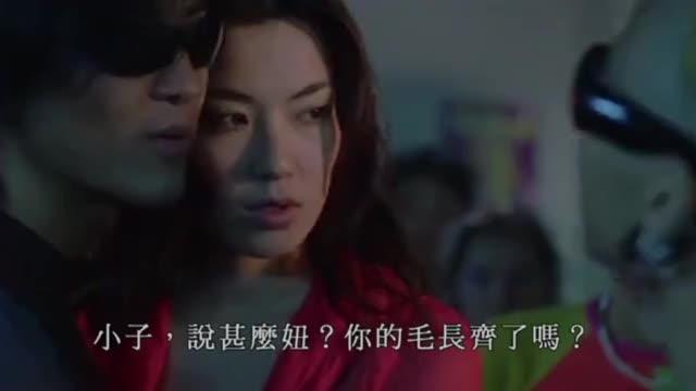#经典看电影#烈火战车: 浩南哥和人比赛车, 差点栽在一个小混混手里