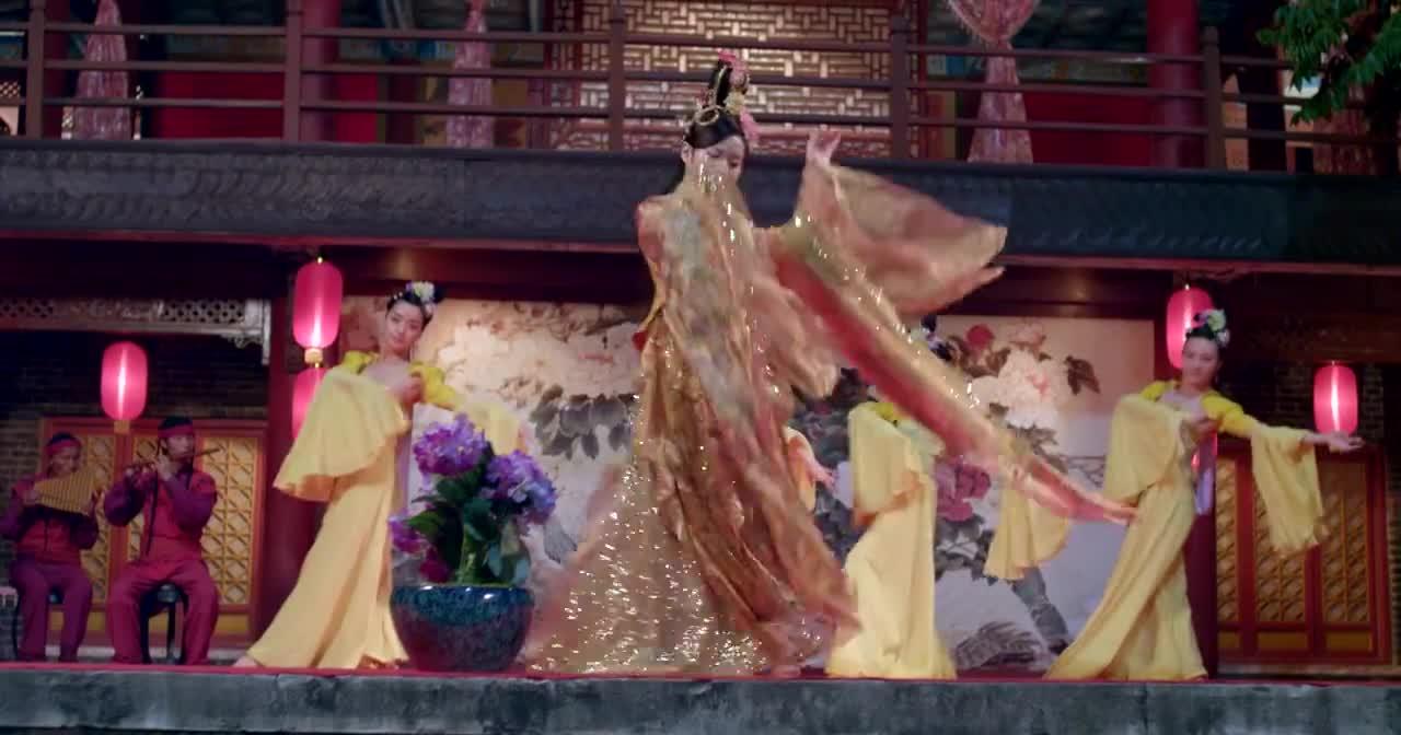 调皮王妃:晴柔献舞,美艳无比,三王爷看入了神