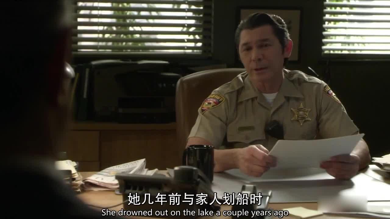 探员问到警长伤心往事,警长:每次打捞上来的尸体,我都怕是她!