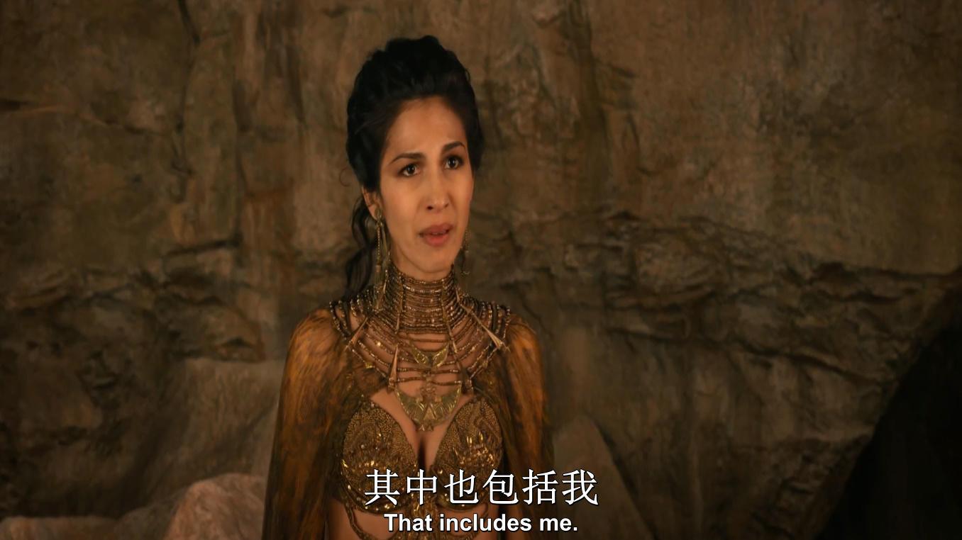 #电影最前线#埃及王子大战怪物美杜莎,凡人贝奇成为诱饵,结局大快人心!