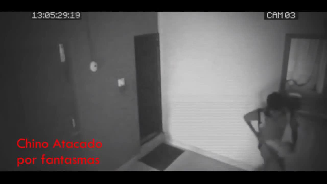 监控记录,令人难以置信的奇怪的幽灵鬼魂!