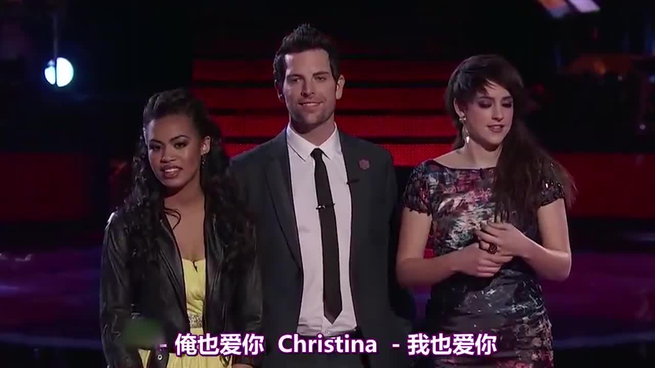 克里斯蒂娜鼓励自己的队员,她的队员又会有怎样的表现呢
