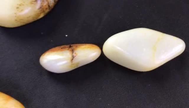 #新疆和田玉籽料#警惕!原石以俄充籽 和田玉籽料原石真假如何鉴定?