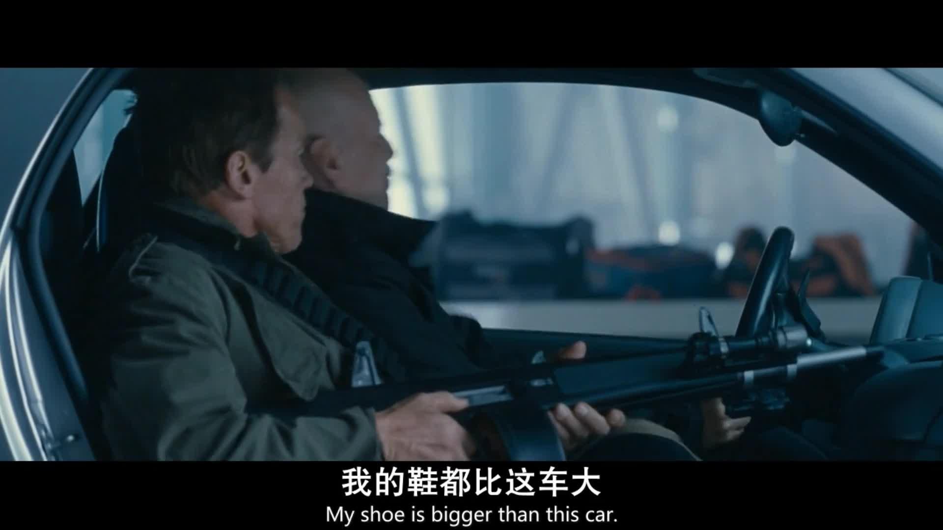 《敢死队2》史泰龙系列的电影,每一部都是开挂的人生