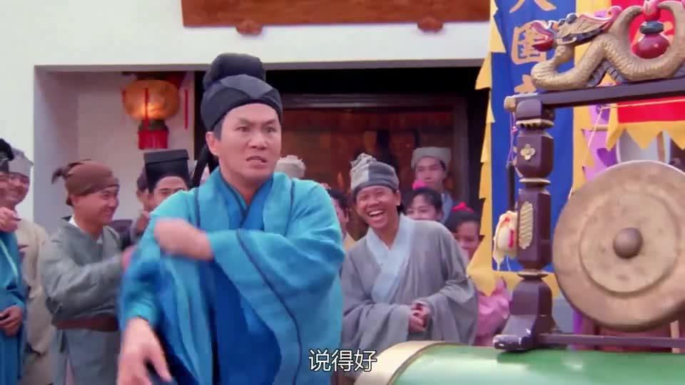 """#电影迷的修养#一张破布,被张国荣玩成了""""魔毯"""",最后一下戳中了笑点"""