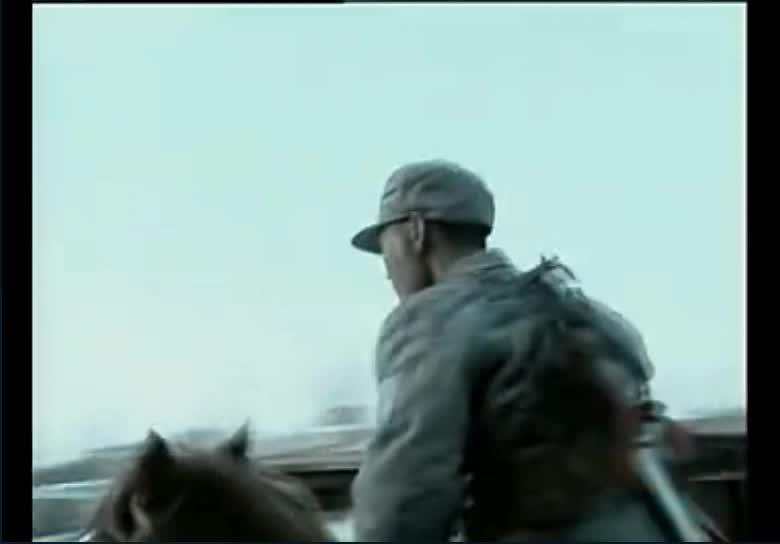 #经典看电影#和尚最后一次在战场大放异彩:这几个镜头暗示了一去不复返