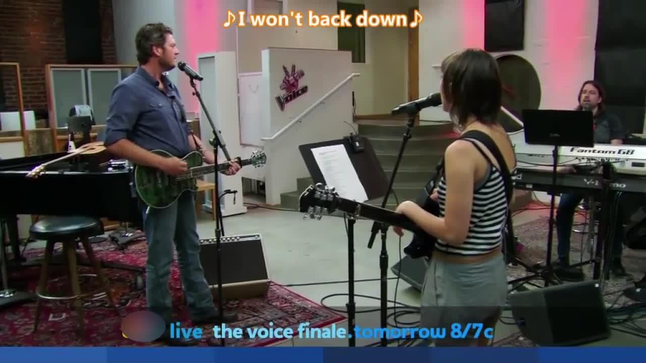 布雷克为了胜利居然要在比赛中与女选手合唱,他尽力了