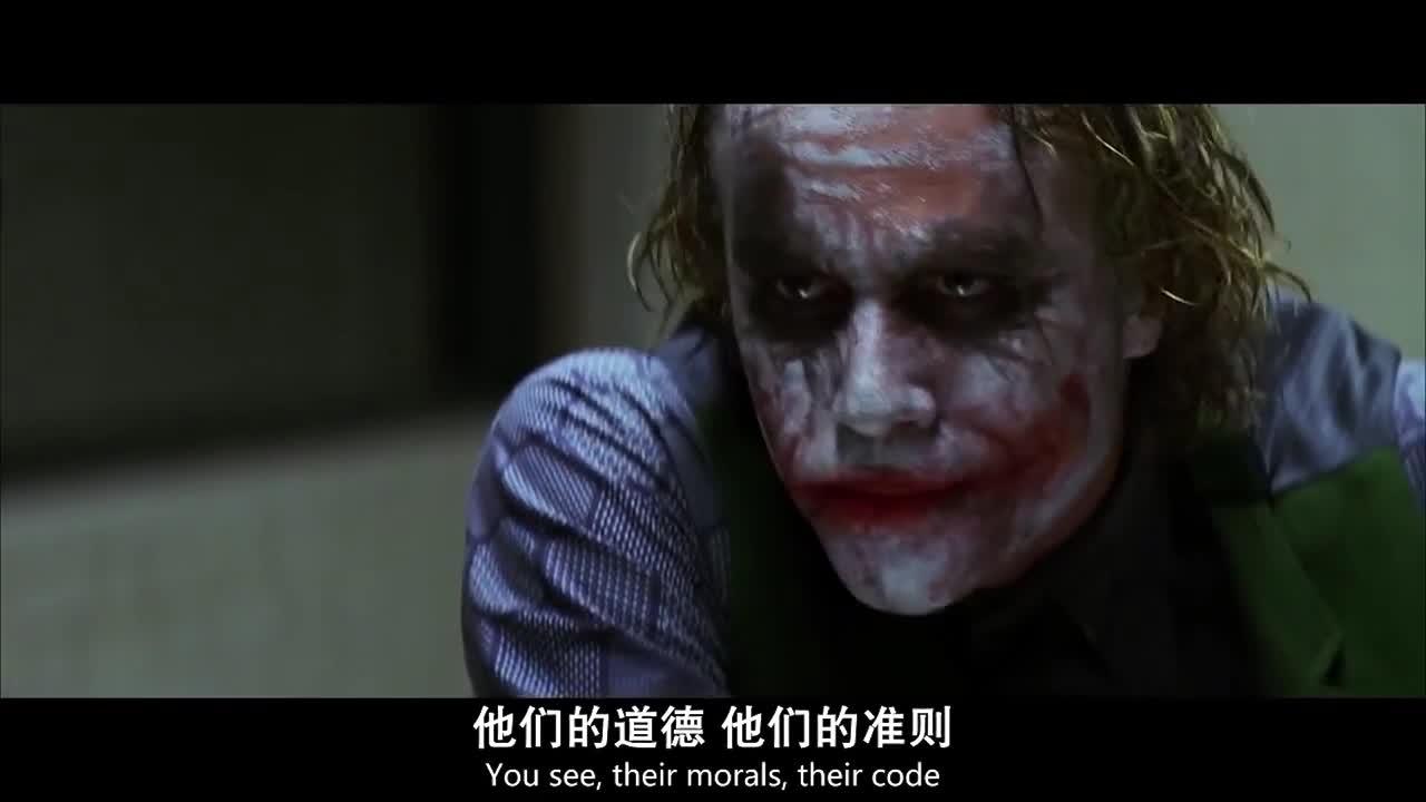 #蝙蝠侠:黑暗骑士#《蝙蝠侠:黑暗骑士》我不是恶魔,只不过想法超前