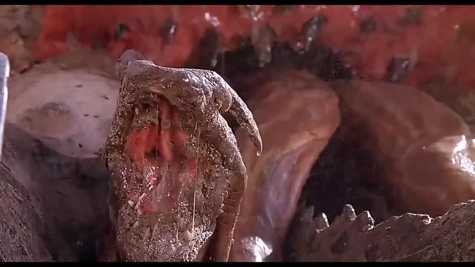 #电影迷的修养#美女被怪物追杀,不小心被铁丝缠住双脚,只好把裤子脱了才逃掉
