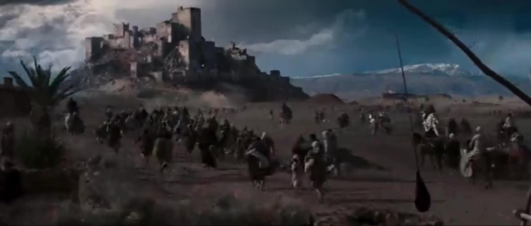 #经典看电影#天国王朝  一名真正骑士的冲锋