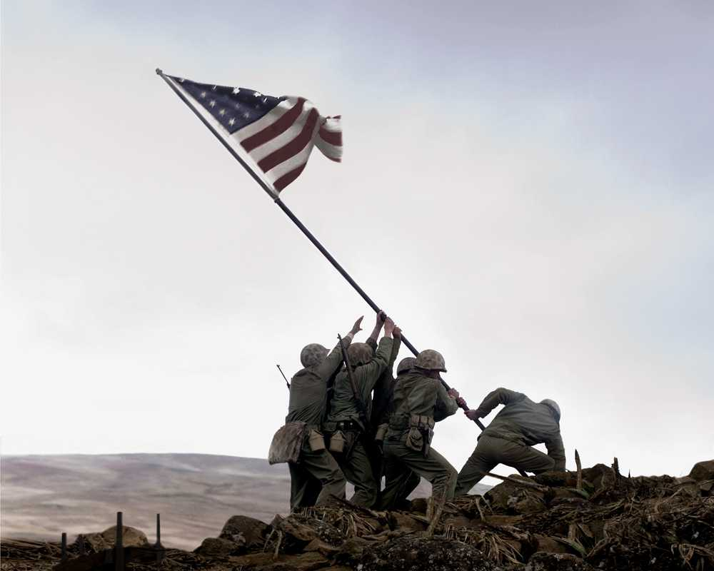 #经典影视#揭露这张名扬世界的照片背后的秘密,阿斗带你速看《父辈的旗帜》