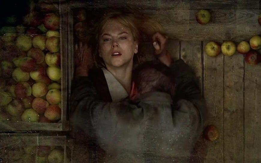 #经典看电影#5分钟看懂惊悚悬疑片《狗镇》一个少女屠村的故事