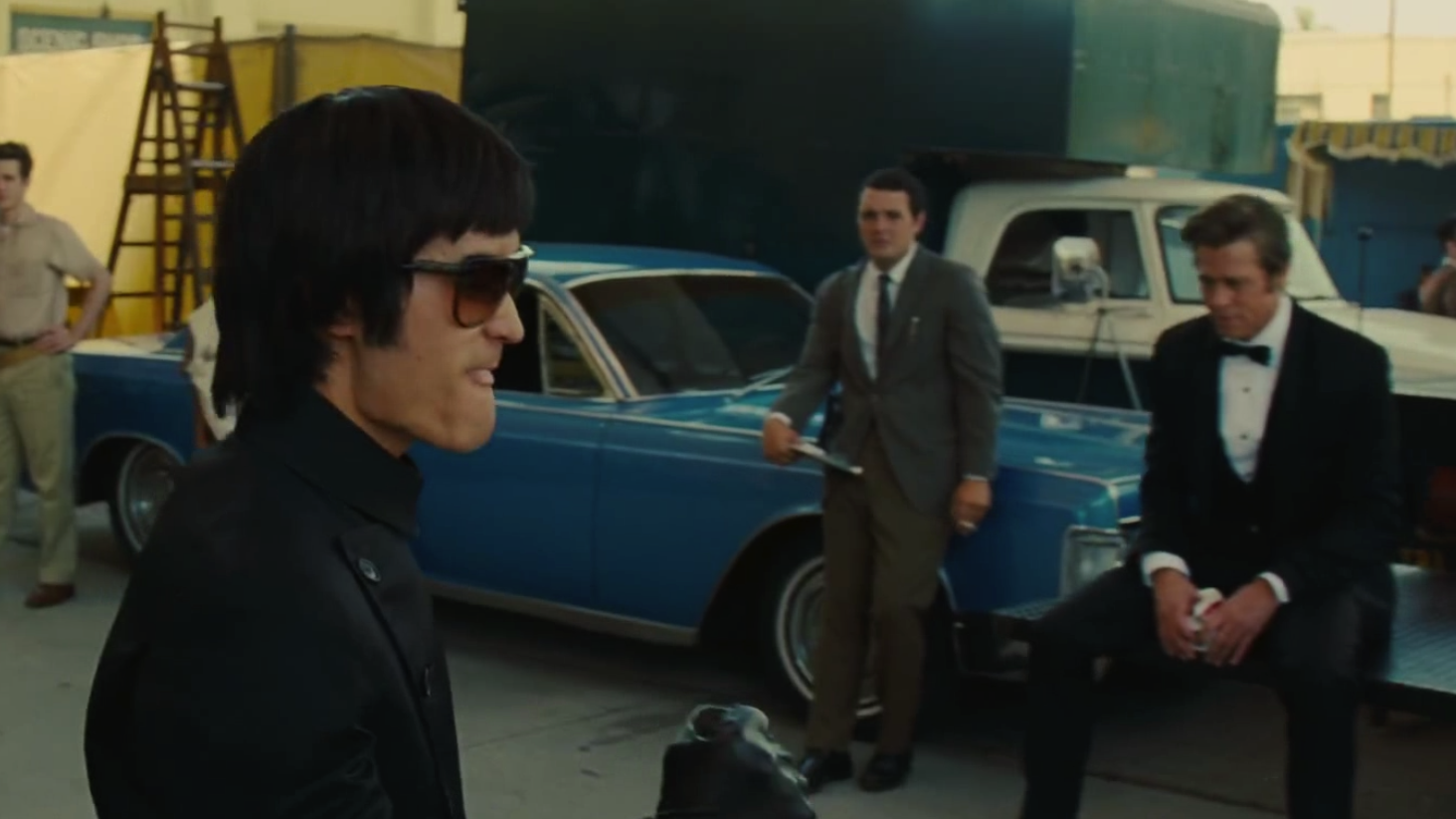 #好莱坞往事#鬼才导演致敬李小龙!两大好莱坞男神重演《好莱坞往事》