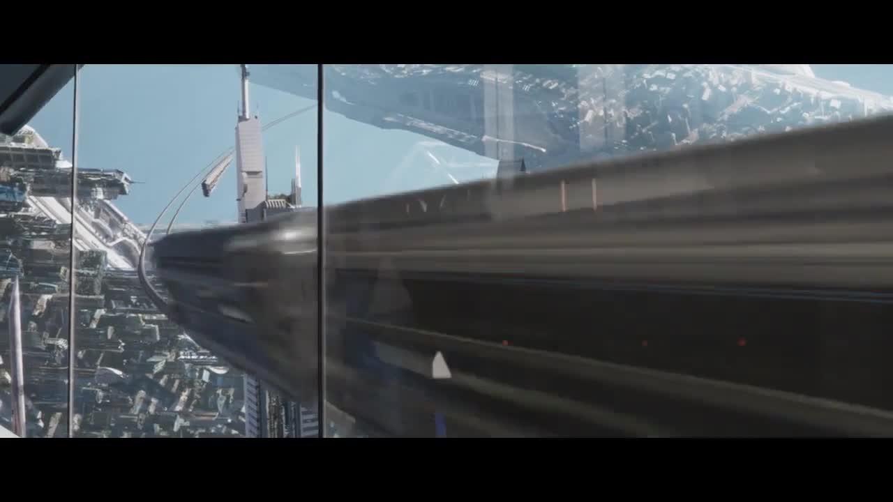 未来世界就是厉害,各种高科技,全未来化城市