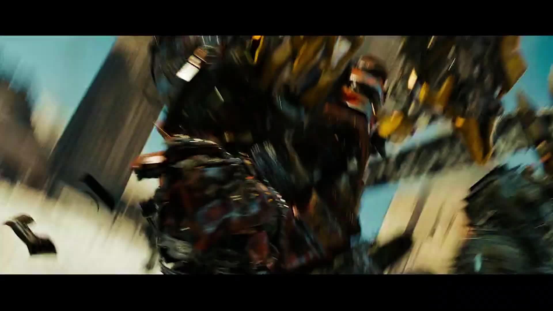 #电影迷的修养#【变形金刚】当我带上面具,你就准备迎接死亡 吧!