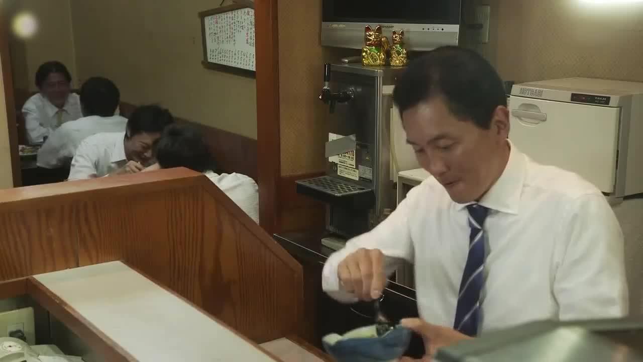 井之头五郎美食家,吃完离开