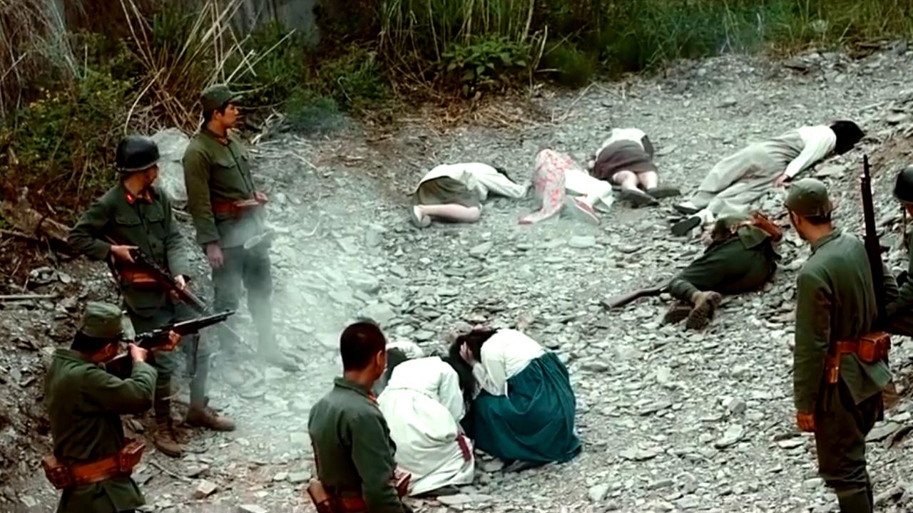 #经典电影#一部令人发指的战争片,数十名女孩被日军抓进军营,仅一人生还