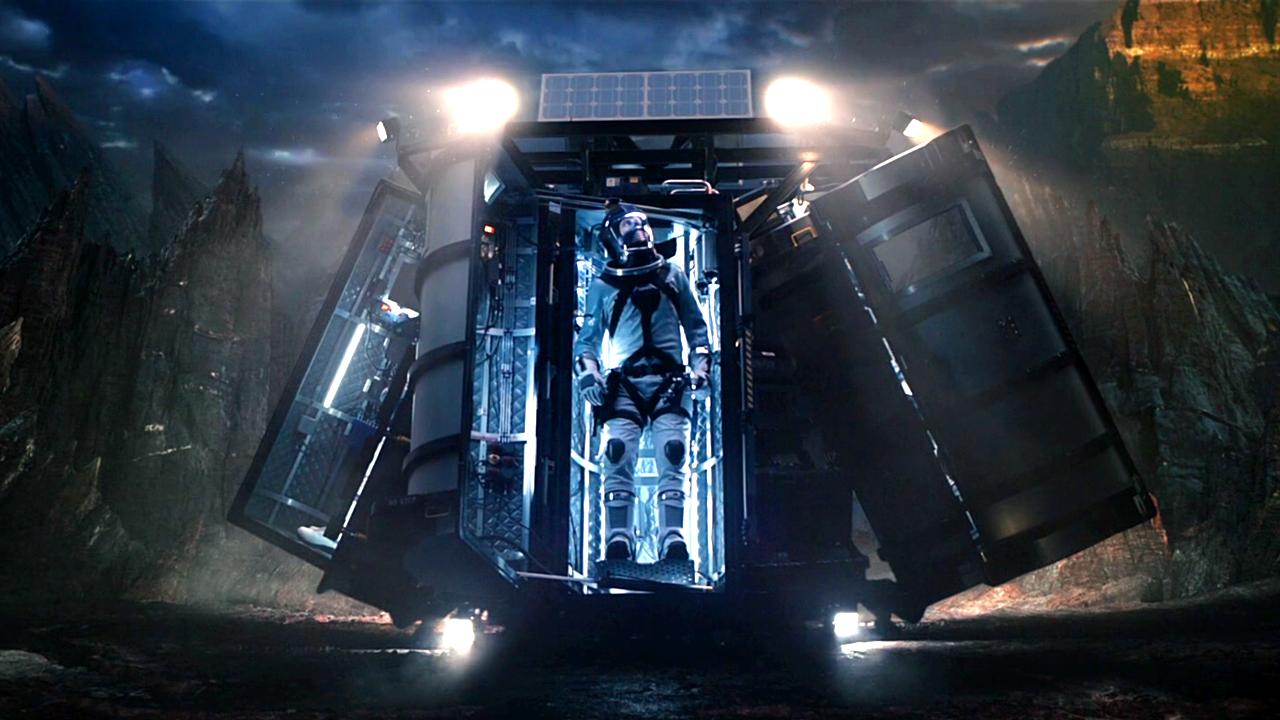 科学家乘坐太空舱,闯入未知星球,临走时有一人被留在这里!