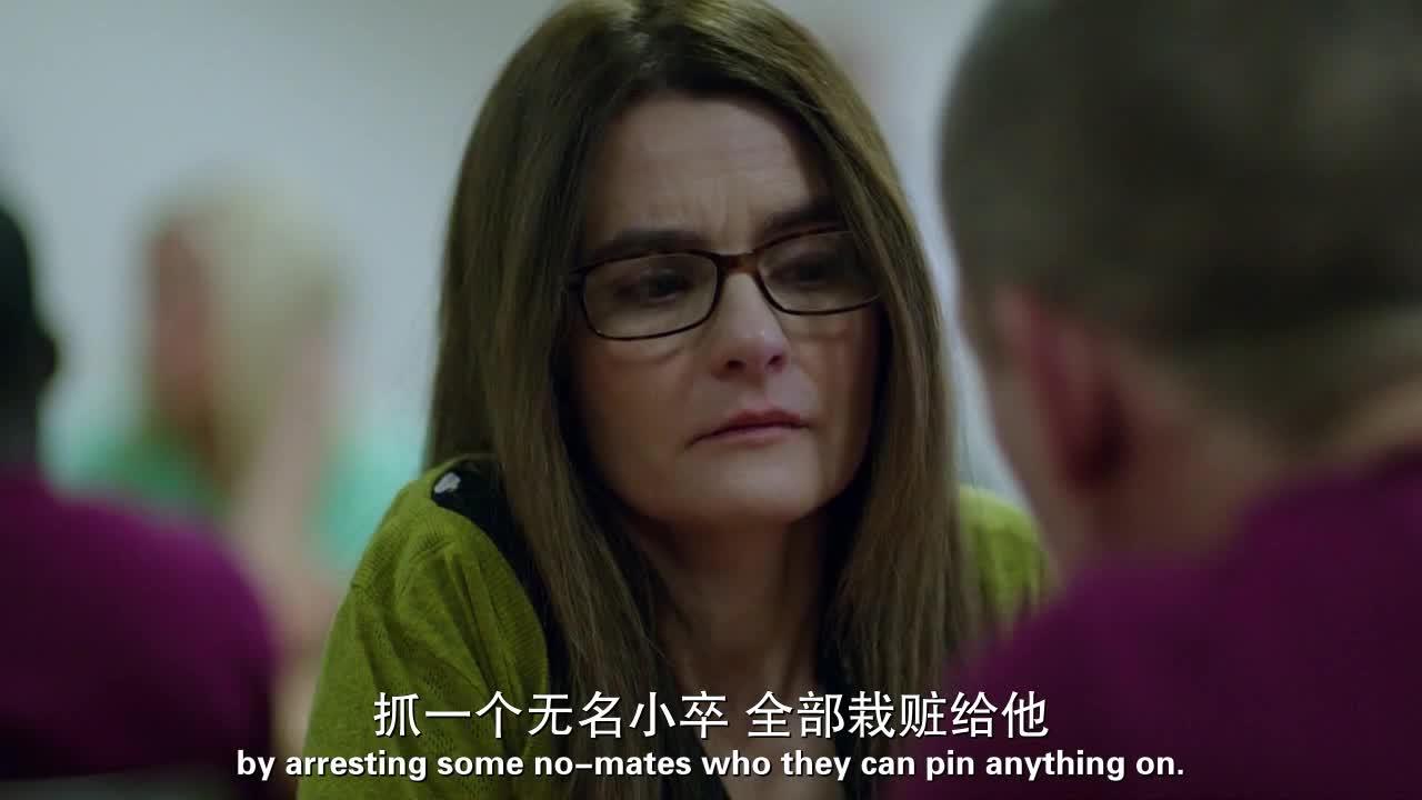 监狱里他很难受,找来女友诉苦,言语中却没有悔改的意思