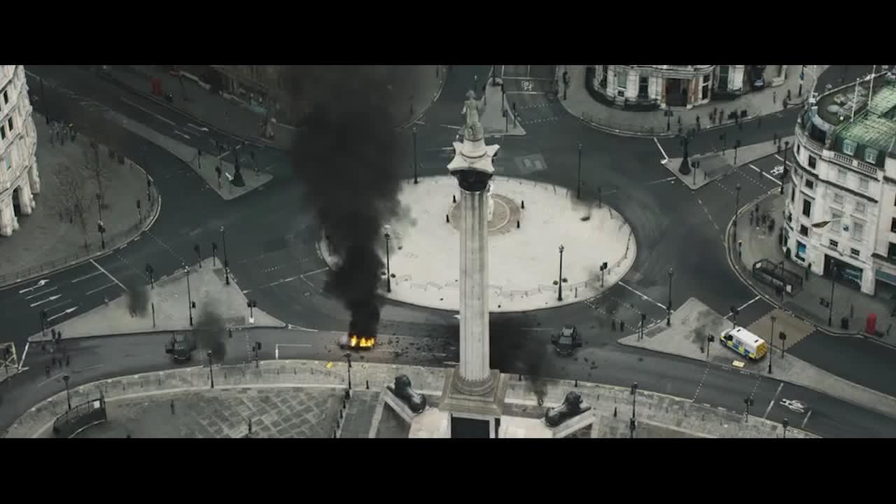 桥塌了,房子烧了,这无疑是战争的开始啊