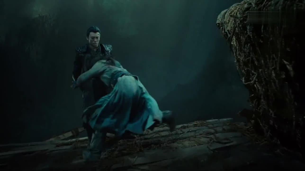 #电影片段#《鲛珠传》黑羽被亲哥哥陷害,还夺走了鲛珠