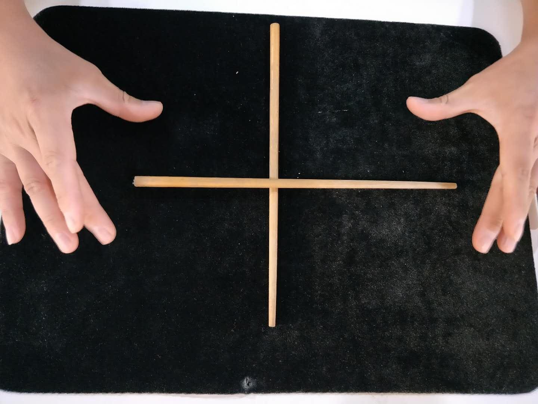 #魔术教学#手不碰筷子,如何才能隔空移动筷子?方法特简单,速速收藏!