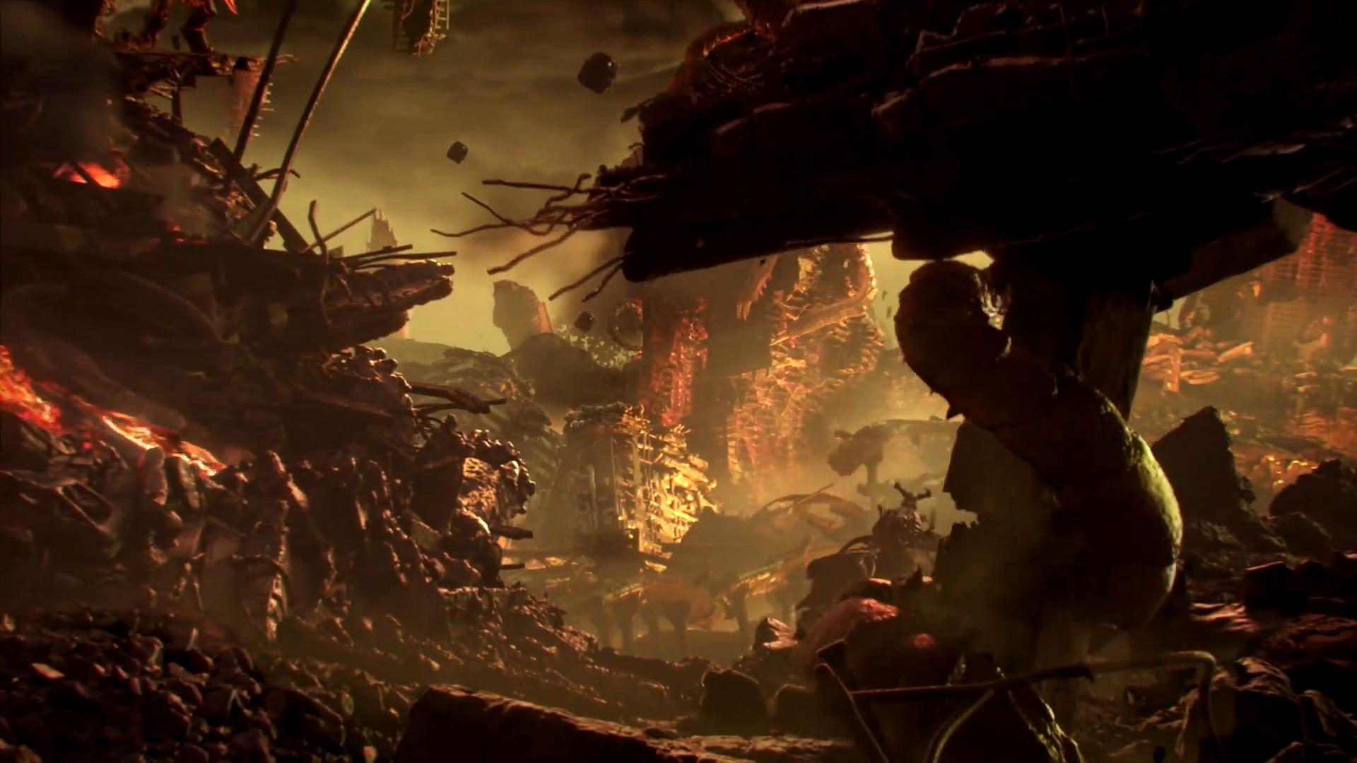 游戏CG动画欣赏-《毁灭战士:永恒》